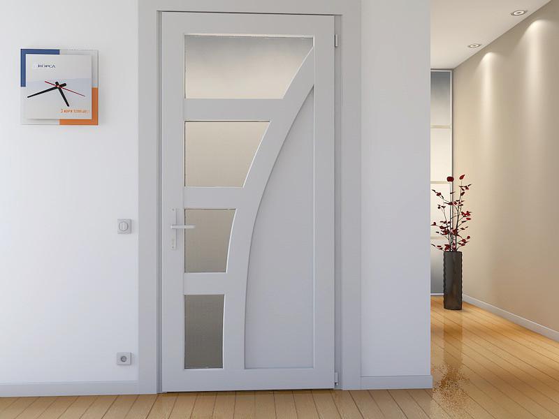 дизайн дверей из пластика